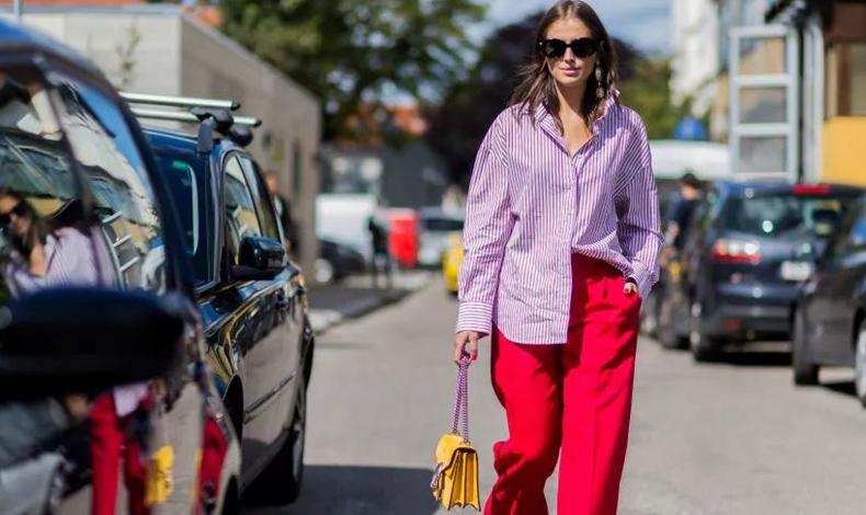 紫色衣服搭配